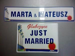 Ślubne z drukiem