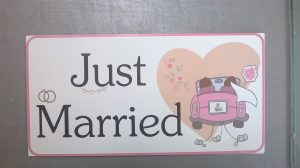 Just Married druk